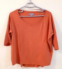 портокалова bershka блуза