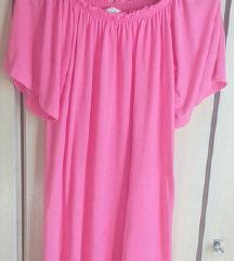 HM rozevo fustance