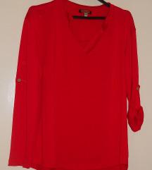 Crvena kosula/bluza  vel M -250 den