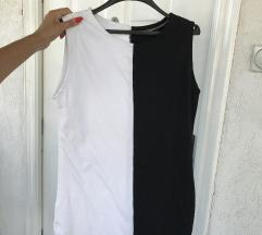 Crno belo fustance