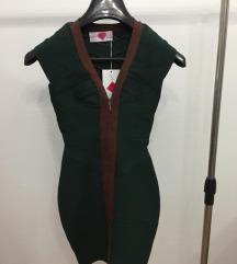 Zelen nov fustan