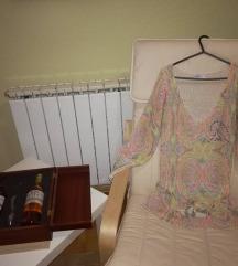 Шарена кончана блуза