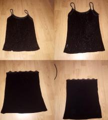 Црна маичка и корсет