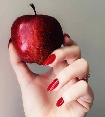 Мат кармин + лакче за нокти 💋