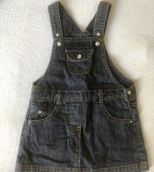 Тексас фустанче окаиди за бебе
