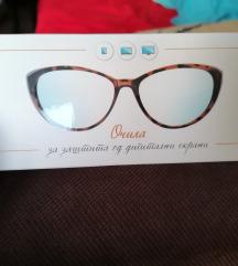 Oчила против зрачење од компј и моб тел екрани