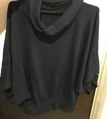 Блуза со широки ракави