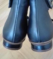 *400*NOVI Crni kozni Rieker sandali