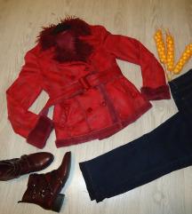 Krzneno palto/bunda  L/XL