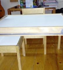 Ikea drvena detska masa
