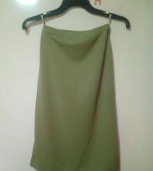 Maslinesta suknja