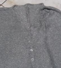Nov srebren džemper s/m/l
