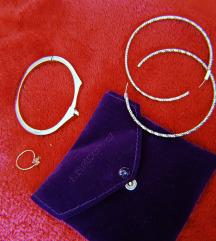 Komplet - Alka, obetki i prstence