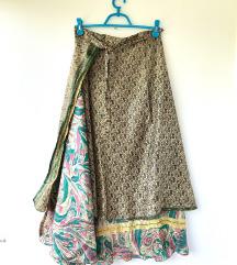100% Svila suknja