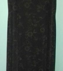 Nov crn fustan m/l/xl