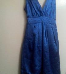 NOV satenski fustan