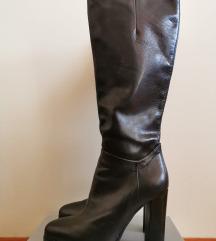 Високи чизми од чиста кожа