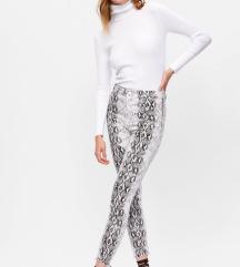 ZARA snake print pantaloni