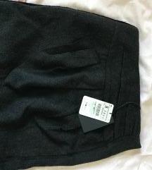 NOVA Zara zimska suknja so etiketa