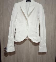 Бело сако 42