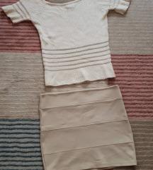 Комплет блуза и сукња
