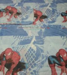 Postelnina spidermen