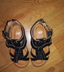 H&M kozni sandalki 25