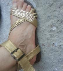 sandali novi zlatni