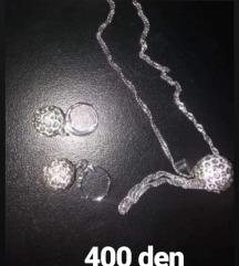 Srebren nakit
