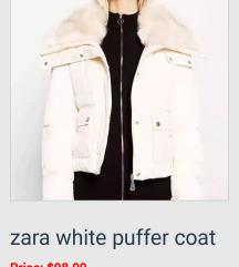 ZARA jakna so krzno nova