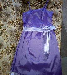 Лилав фустан