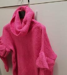 Pink raskosen djemper