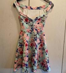 Преубав цветен фустан