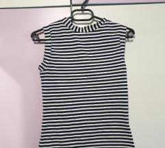 Блуза на риги без ракави