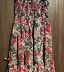 Цветен летен фустан