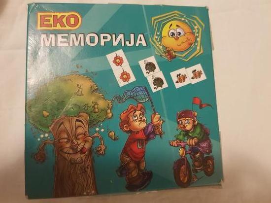 Memoriski kartici igra za deca