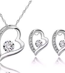 set nakit srcinja