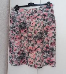 Brendirana cvetna suknja LINDEX 42