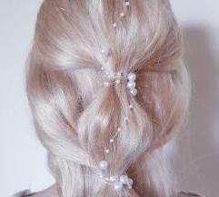 бисери за коса