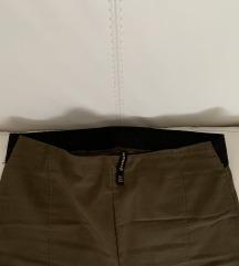Maslinesti pantoloni (Visok struk)