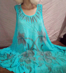 нова туника фустан  за покрупни или пошироко
