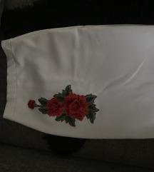 Бела сукња