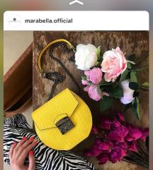 Marabella жолта ташна носена само еднаш!