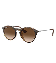 Ray Ban Round Tortoise Rubber