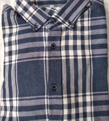 Нови машки кошули, спакувани, разни големини