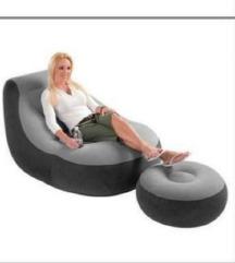 Fotelja i taburetka INTEX⚠️namaluvanje