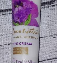 Love nature anti agеing крем за околу очи