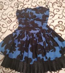 Kratok  balerina fustan