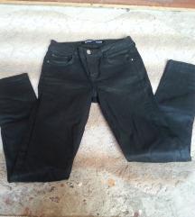 Zara lastik pantoloni crni novi