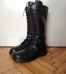 Високи кожни чизми(мартинки)